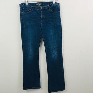 Lucky Brand Sweet Boot Cut Jeans